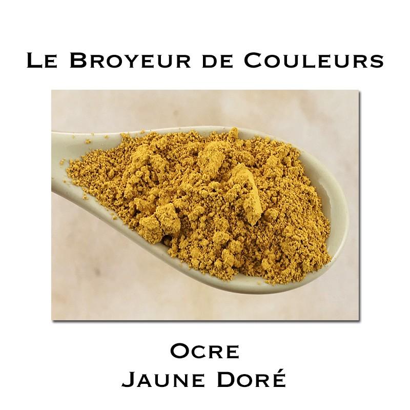 Pigment Ocre Jaune Doré