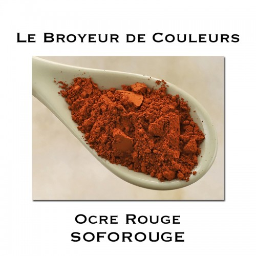Pigment Ocre Rouge SOFOROUGE