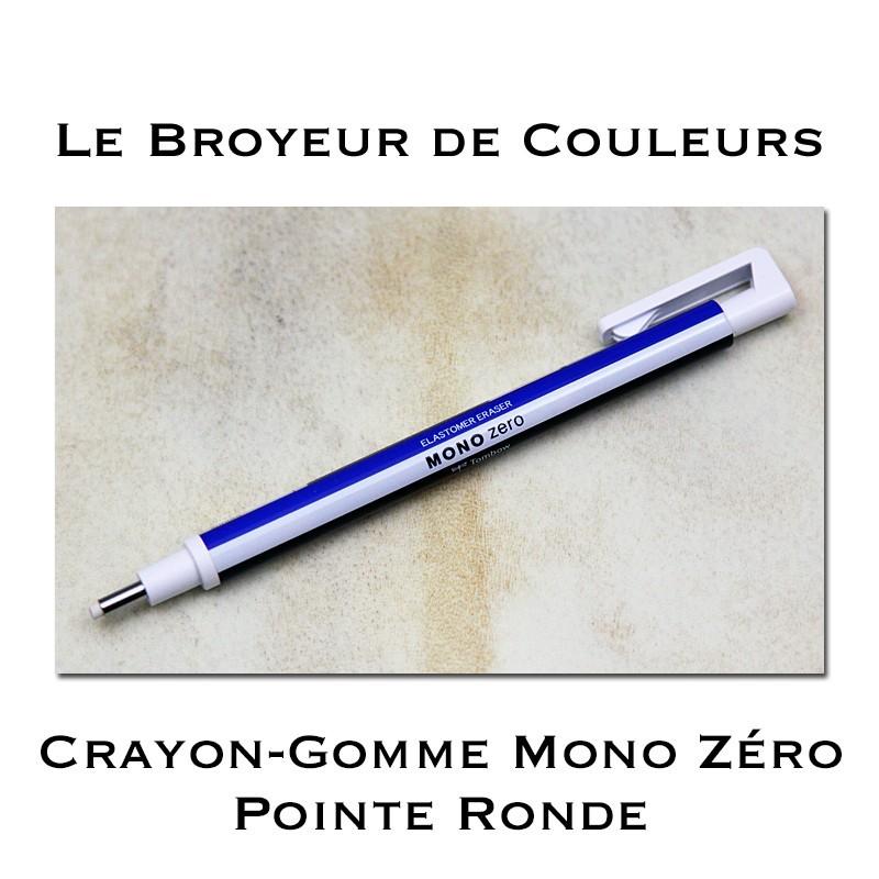 Crayon Gomme Mono Zéro Pointe ronde