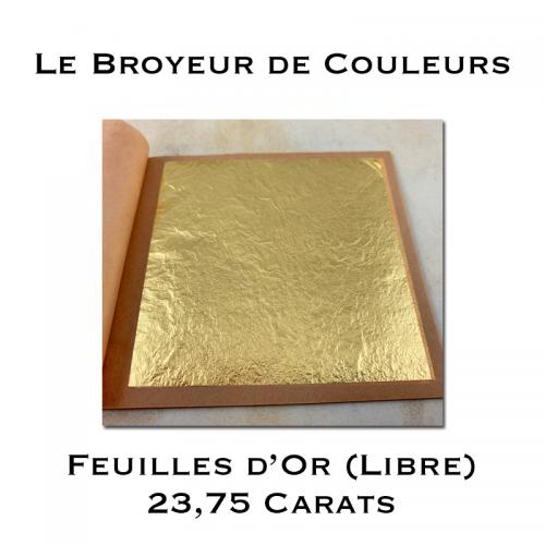 Feuilles d'Or (Libre) - 23,75 carats