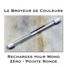 Recharges pour Crayon Gomme Mono Zéro Pointe ronde