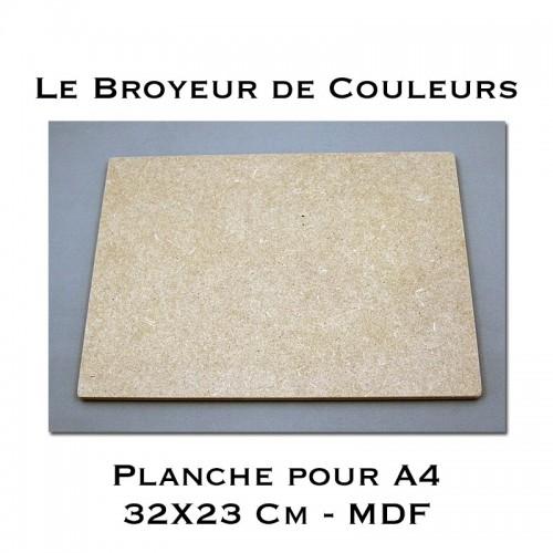 Planche pour format A4 - MDF
