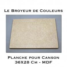 Planche pour format Canson - MDF