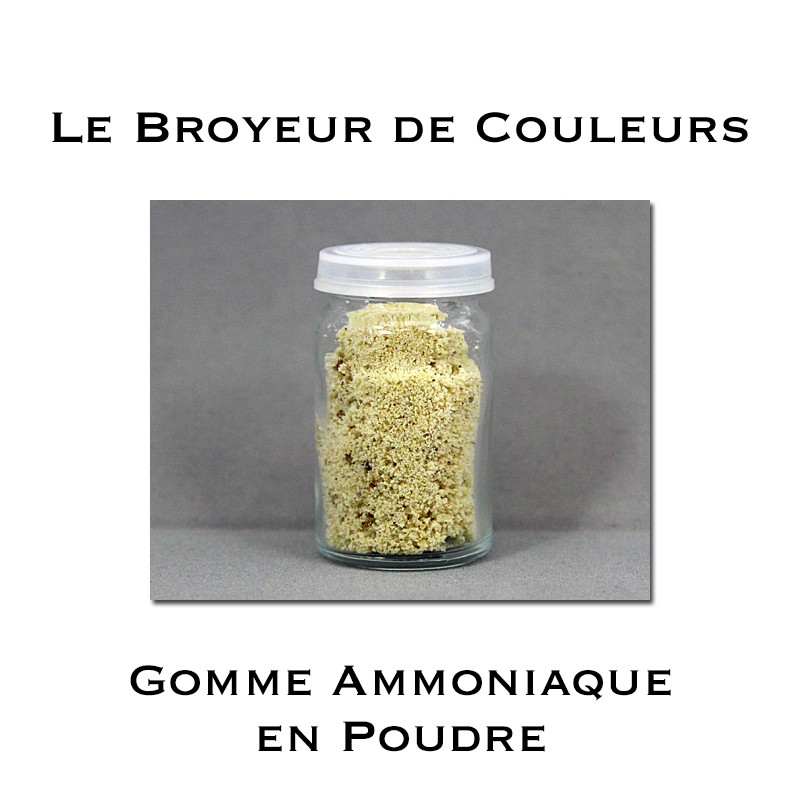 Gomme Ammoniaque en Poudre - 20 ml