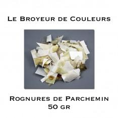 Rognures de Parchemin - 50 gr