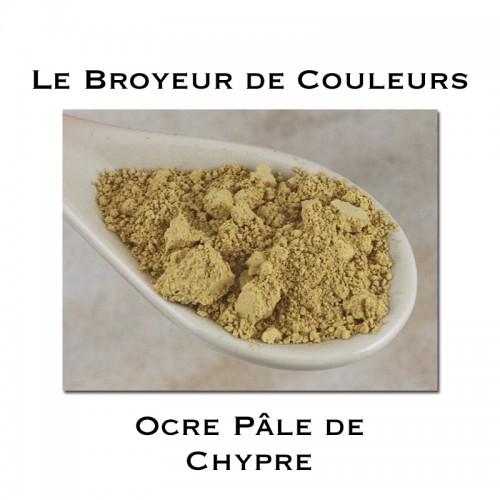 Pigment Ocre Pâle de Chypre