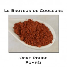 Pigment Ocre Rouge Pompéi