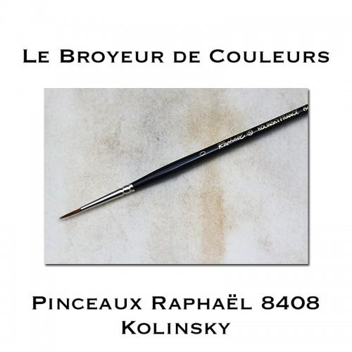Pinceaux Raphaël 8408 - Kolinsky