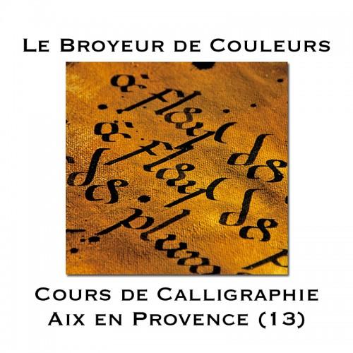 Cours de Calligraphie - Aix-en-Provence (13)