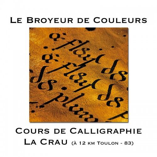 Cours de Calligraphie sur La Crau (83 - Var)