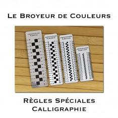 Règles Spéciales Calligraphie