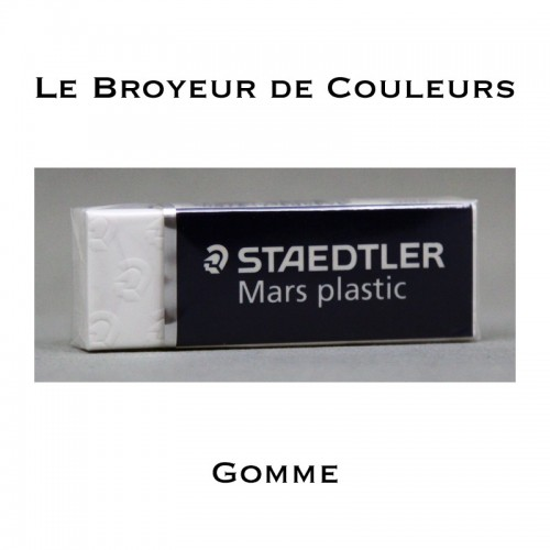 Gomme Blanche - Staedtler Mars Plastic