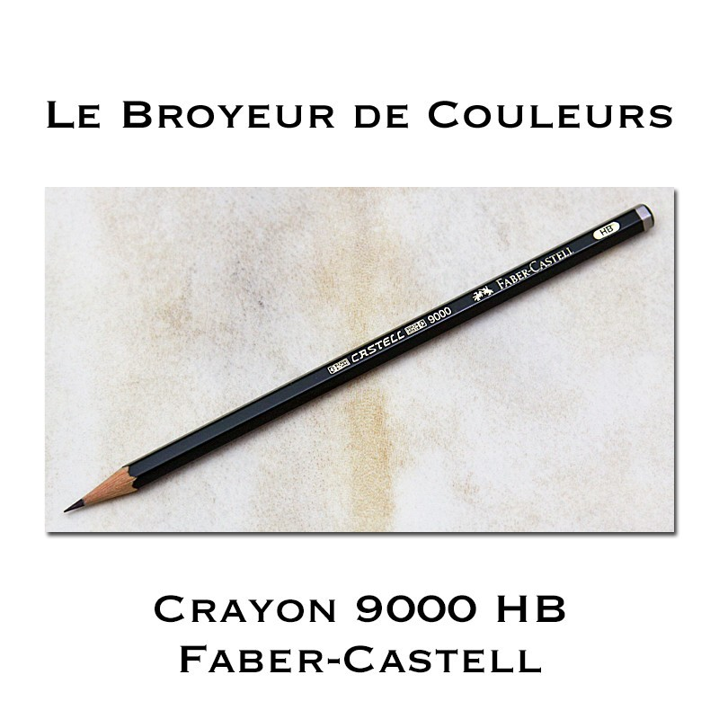 Crayon Faber-Castell 9000 HB